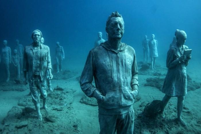 Музей под водой – впервые в Европе