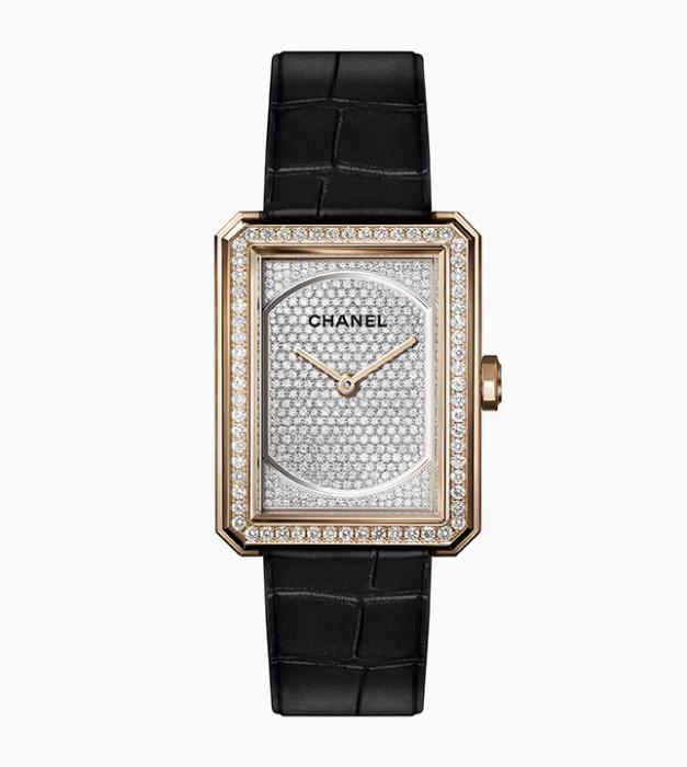 Chanel: бриллиантовые часы Boy friend