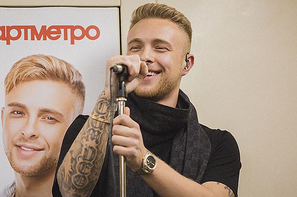 Егор Крид устроил концерт в московском метро!