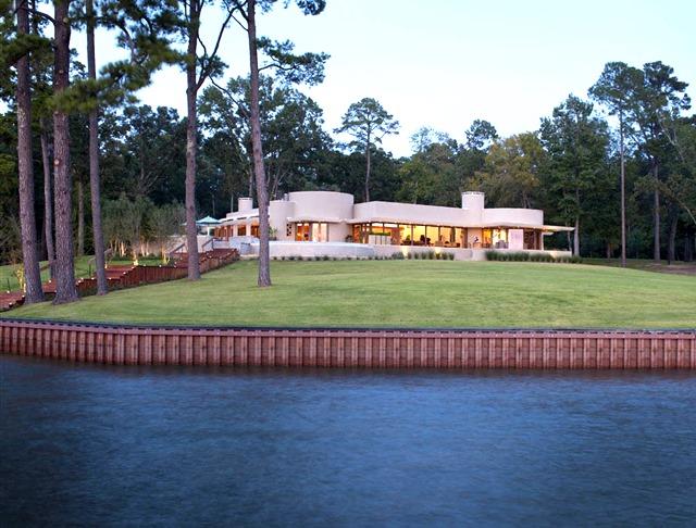 Дом с уникальной закругленной формой