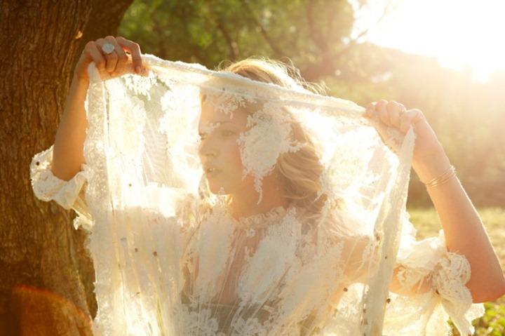 Ангельская фотосессия Кейт Мосс