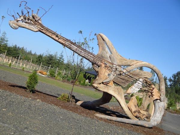 Великолепные скульптуры, сделанные из дерева