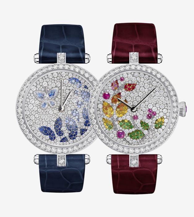 Бриллиантовые часы Van Cleef & Arpels