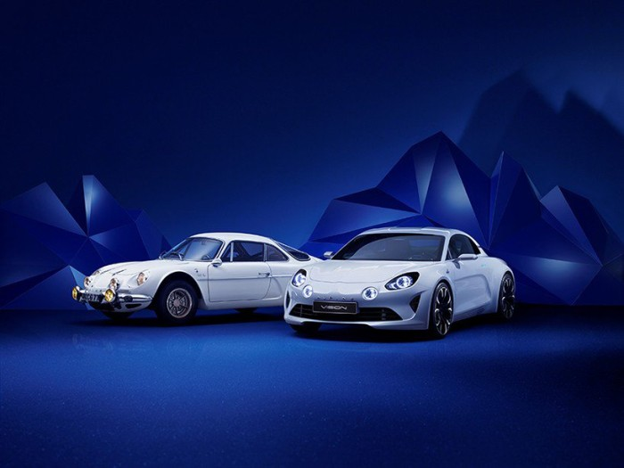 Презентация авто Renault Alpine Vision
