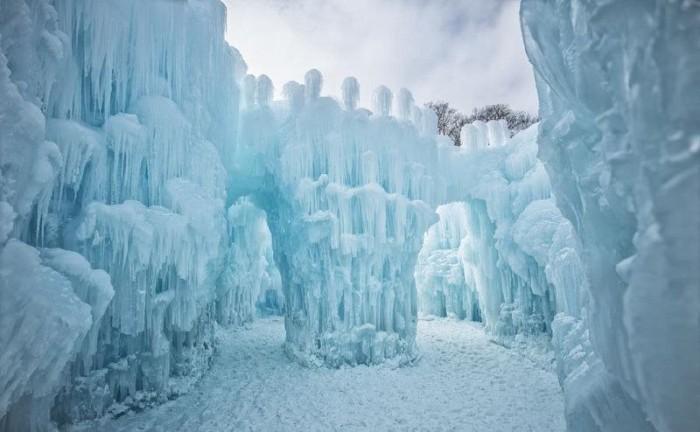 Ледяные замки в США