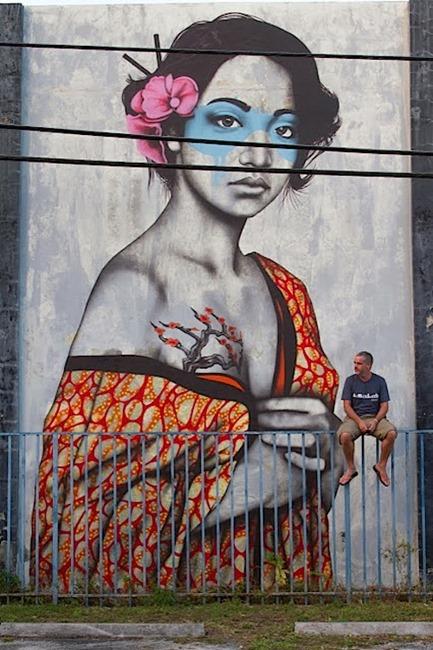 Уличное искусство в Майами