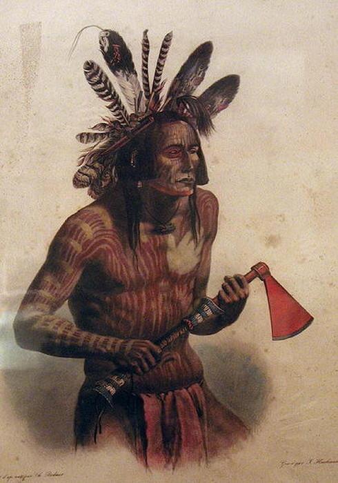 Особенность индийского племени мандан
