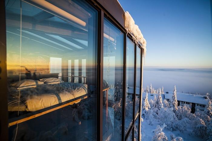«Eagle View Suite»   люксовый отель Финляндии