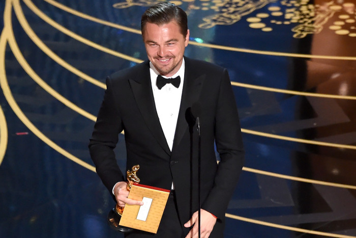 Леонардо Ди Каприо получил премию «Оскар»!