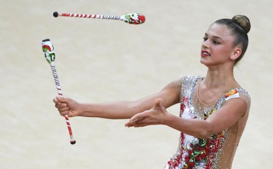 Пять медалей Кубка мира завоевали гимнастки из России!