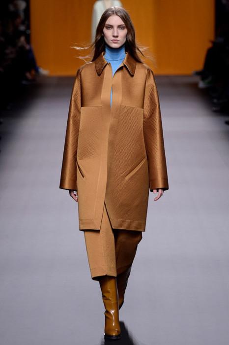 Женская линия Hermès осень зима 2016/2017