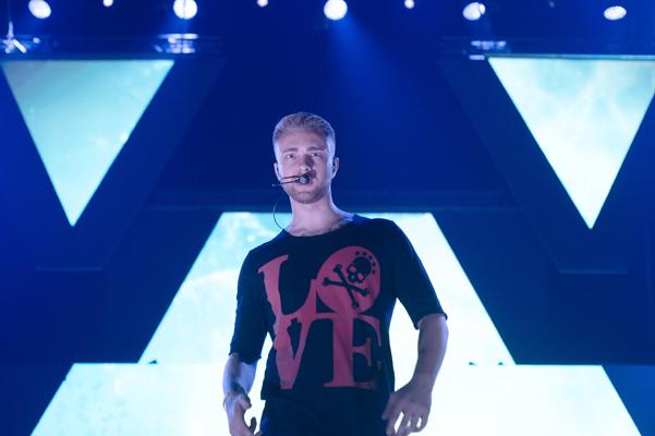 Егор Крид дал концерт в Москве