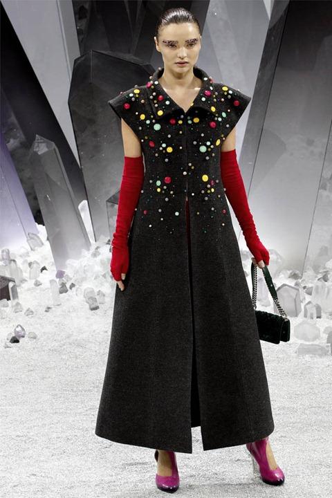 Неделя моды в Париже: Chanel осень–зима 2012/2013