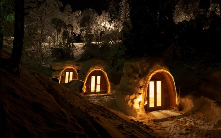 Отель PODhotel в Альпах