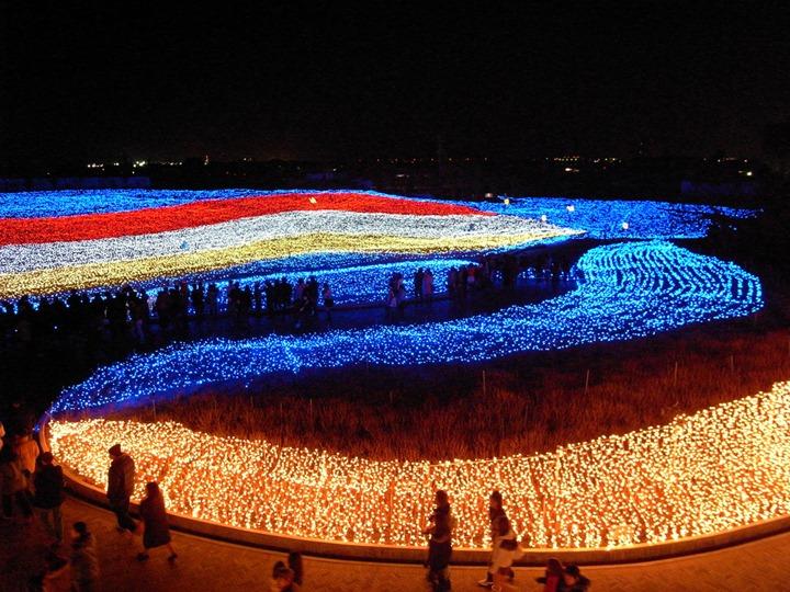 Зимний фестиваль света в Японии