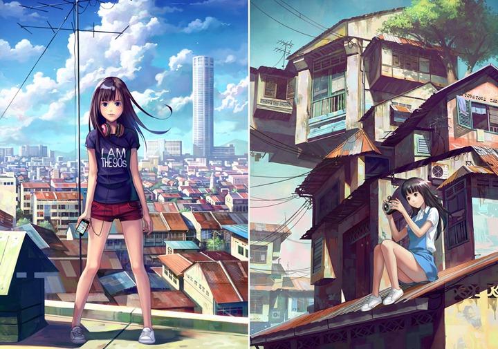 Цифровой художник Chong FeiGiap