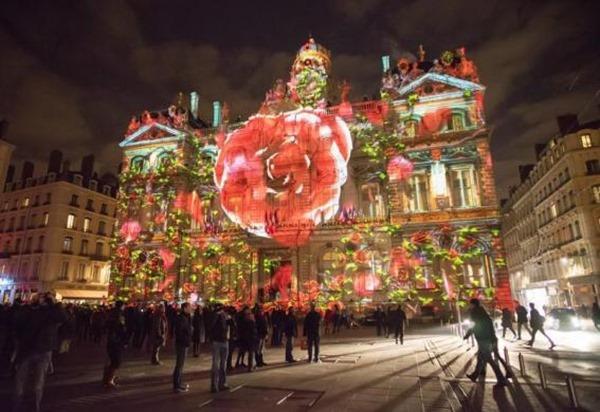 Фестиваль света в Лион, Франция 2013