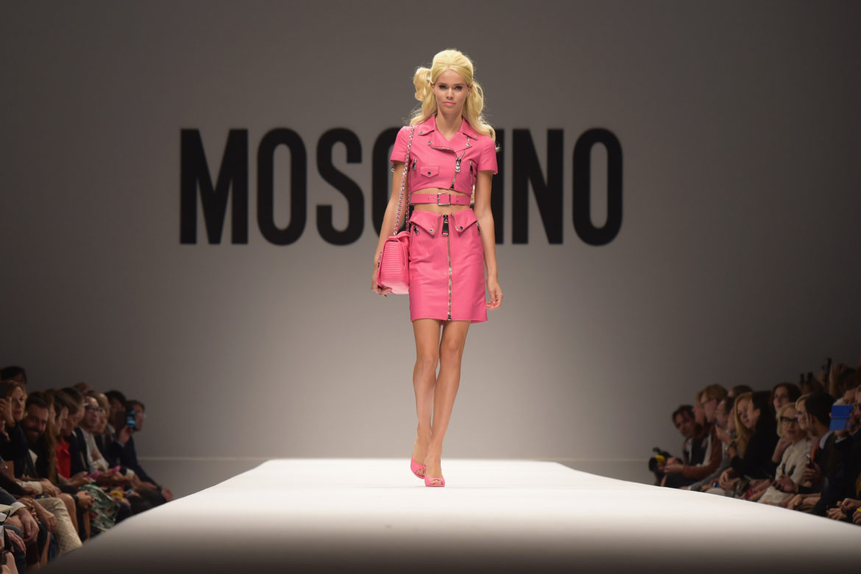 Показ Mosсhino в Москве