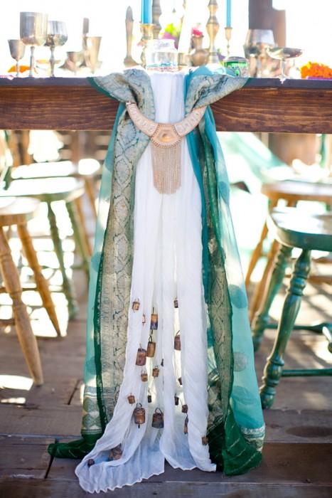 Ноты востока свадьба в стиле рустик