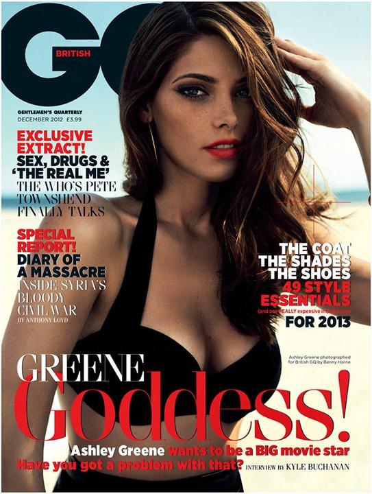 Эшли Грин для GQ UK декабрь 2012