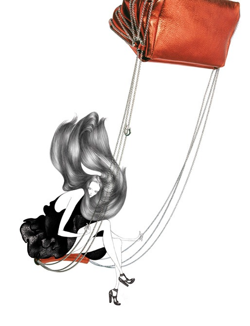 Гламурные иллюстрации от Лауры Лэйн