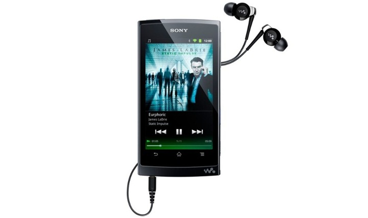 Sony Walkman Z: Android плеер с потрясающим качеством звучания