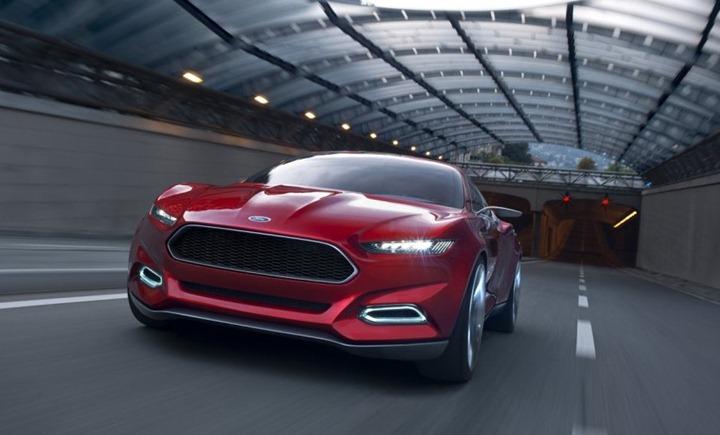 Ford показал видение своего будущего   Evos Concept