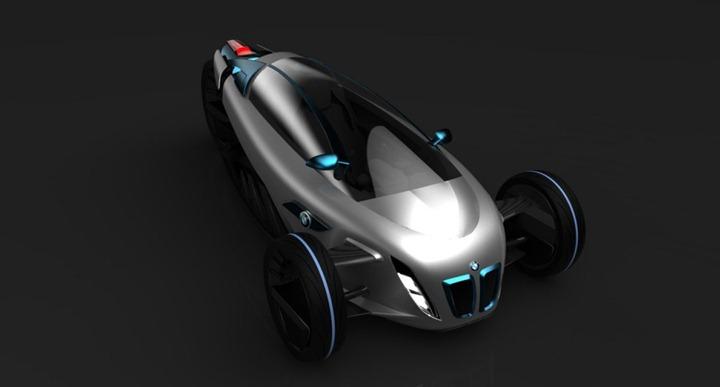 """Электрический"" концепт BMW i1"
