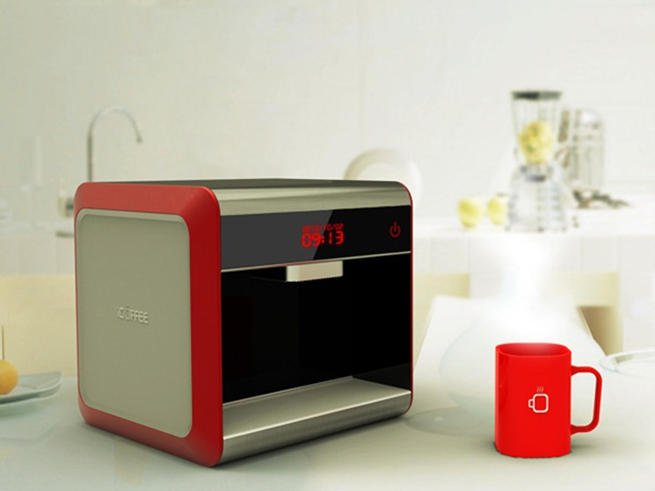 Креативная кофеварка принтер iFancy