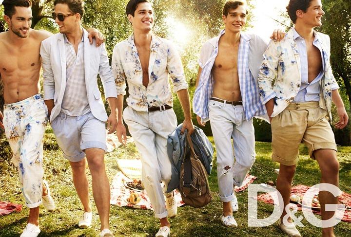 Рекламная фотосессия Dolce & Gabbana от Марио Тестино
