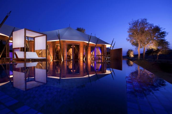 Отель Banyan Tree Al Wadi в ОАЭ в арабском стиле