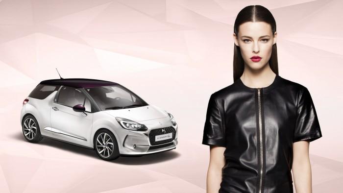 Мечта девушек: авто Citroen DS3 с дизайном Givenchy