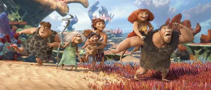"Новый мультфильм от DreamWorks ""Семейка Крудс"""