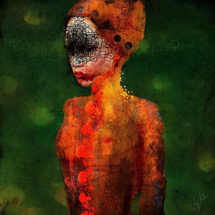 Великолепное искусство Ани Миллен
