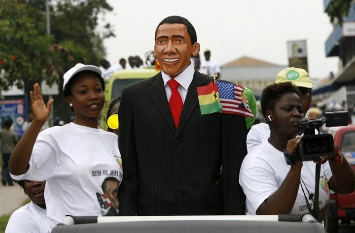 Смешные карнавальные платформы с Обамой