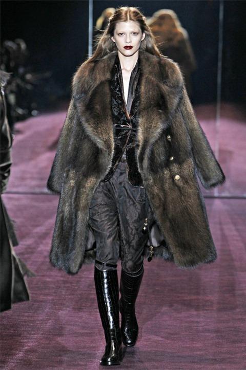 Неделя моды в Милане: Gucci осень зима 2012/2013