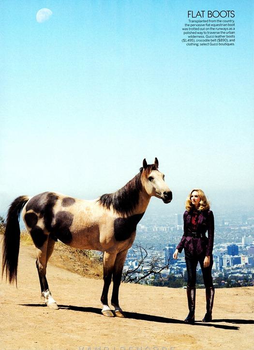 Кэндис Свейнпол для Vogue US