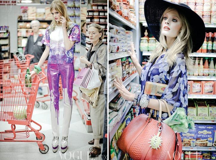 Констанс Яблонски в Vogue Mexico