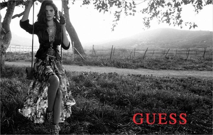 Fashion Фото.  Рекламная кампания Guess осень-зима 2012-2013.