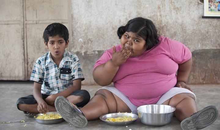 За одну неделю ребенок съедает