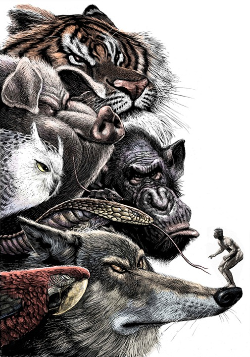 Сатирические иллюстрации Рикардо Мартинеза