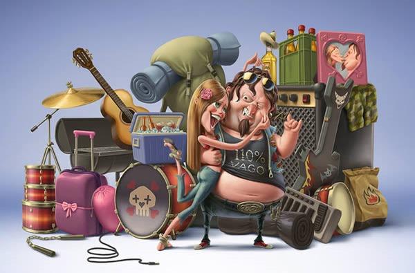 Великолепные иллюстрации Оскара Рамоса