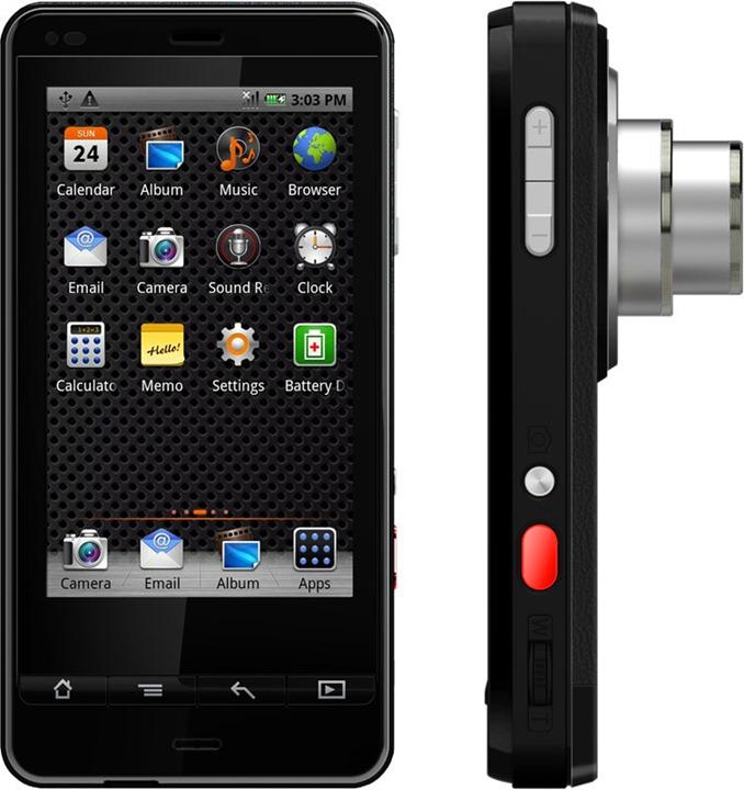 Polaroid SC1630: фотокамера на Android OS
