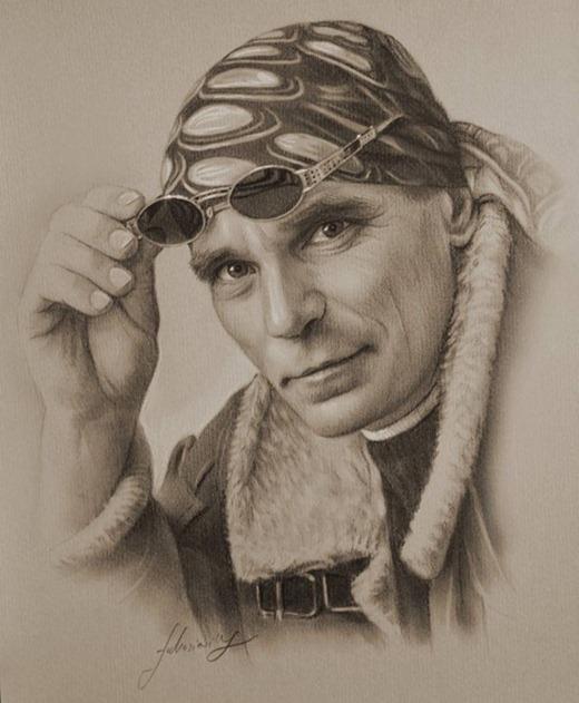 Голливудские знаменитости от художника Krzysztof Lukasiewicz
