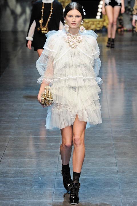 Неделя моды в Милане: Dolce & Gabbana осень 2012