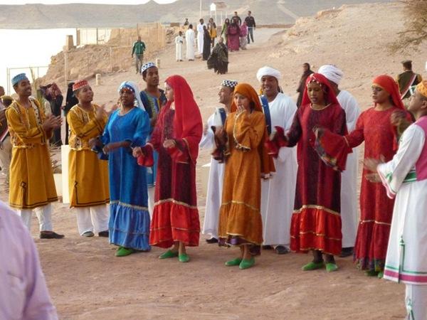 Национальные танцы нубийцев: видео