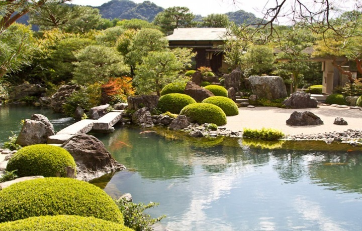 Поездка в японский сад адачи