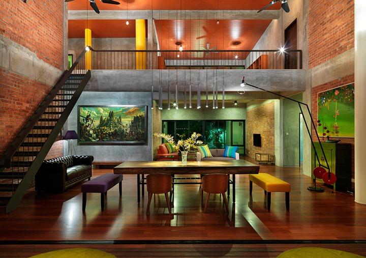 Трехэтажный особняк в Малайзии