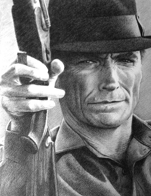 Рисунки знаменитостей карандашом от Paul Brady