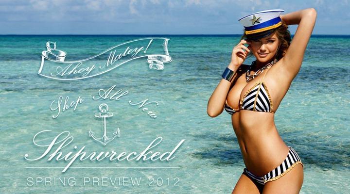 Кейт Аптон в рекламной кампании купальников Beach Bunny весна/лето 2012